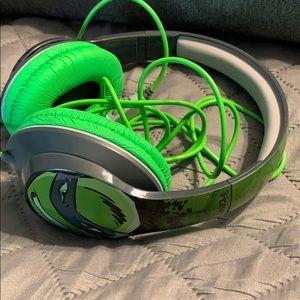 Kids Ninja Turtles Over the Ear Headphones